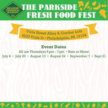 Parkside Fresh Food Fest
