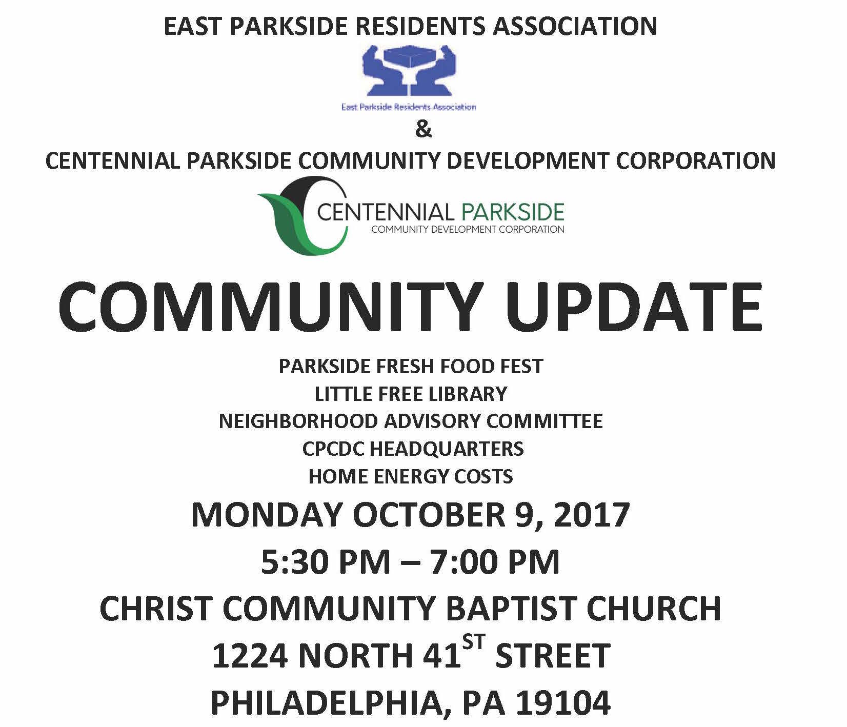 EAST PARKSIDE UNITED COMMUNITY MEETING-2