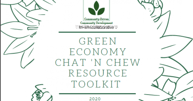 Announcing the release of the Green Economy Chat 'N Chew Resource Toolkit
